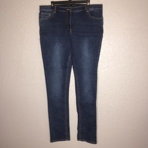 Long Tall Sally jeans. Blue. Size 22